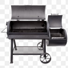 Barbecue - Barbecue Smoking BBQ Smoker Char-Broil Oklahoma Joe's Charcoal Smoker And Grill Grilling PNG