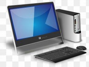 Computer Desktop PC - Desktop Computer Computer Monitor Clip Art PNG