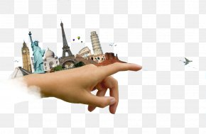 Creative Travel Posters - Travel Agent Monument Stock Photography Illustration PNG