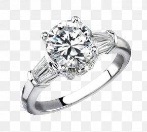Diamond Ring - Engagement Ring Jewellery Diamond Gemstone PNG