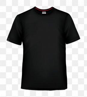 T-shirt Black - Long-sleeved T-shirt Crew Neck Long-sleeved T-shirt PNG