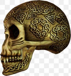 Metal Skull - Skull Calavera Skeleton Bone PNG