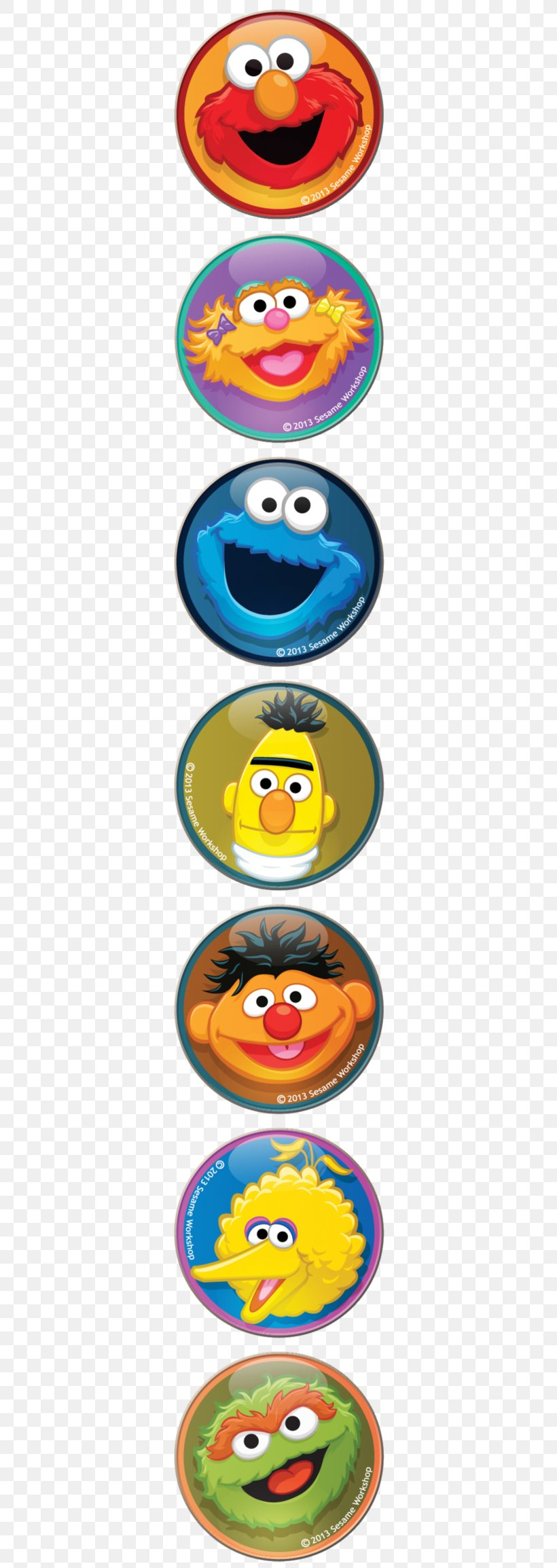 Cookie Monster Elmo Sesame Street Characters Oscar The
