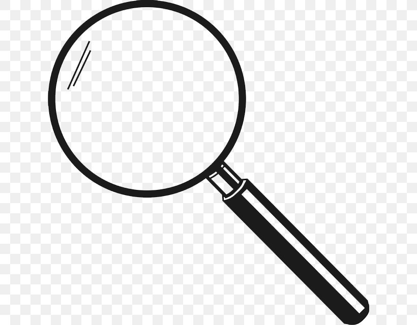 Magnifying Glass Loupe Magnifier Clip Art Png 632x640px Magnifying Glass Black And White Glass Hardware Loupe