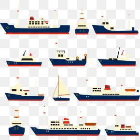 Cartoon Ship - Ship Watercraft Clip Art PNG