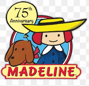 75th Birthday - Madeleine Madeline Picture Book Bakery Child PNG