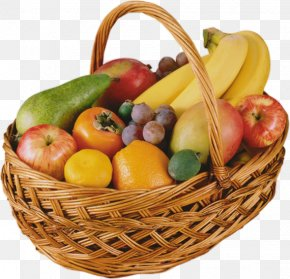 Vegetable - Fruit Food Gift Baskets Clip Art PNG