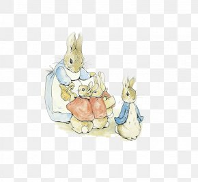 Peter Rabbit - The Tale Of Peter Rabbit Hill Top, Cumbria Collection Of Beatrix Potter Stories, A Illustrator Illustration PNG