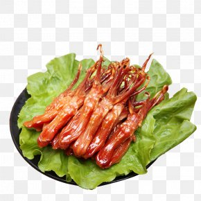 Wenzhou Specialty Duck Tongue Spicy Flavor - Wenzhou Duck Meat Tongue Flavor PNG
