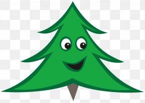 Christmas Tree Line Art - Christmas Tree Santa Claus Clip Art PNG