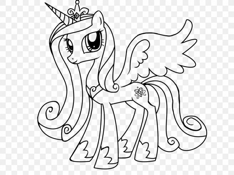 Princess Cadance Coloring Book Drawing Winged Unicorn Png 1024x768px Watercolor Cartoon Flower Frame Heart Download Free