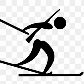 Pictogram - 2018 Winter Olympics Biathlon At The 2018 Olympic Winter Games Alpensia Cross-Country And Biathlon Centre Alpensia Resort Olympic Games PNG