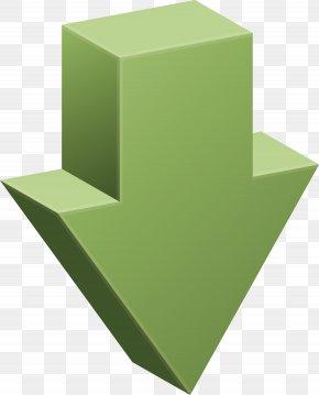 Down Arrow Decoration Vector Material - Arrow Euclidean Vector PNG