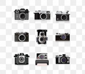 Vector Camera Collection - Camera Adobe Illustrator PNG