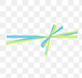 Blue And Yellow And White Ribbons Image - Blue Yellow Red Color PNG