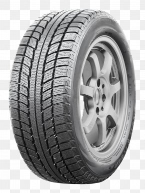 Tire - Car Snow Tire Tread Radial Tire PNG