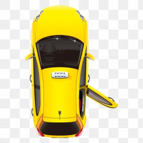 Taxi - New York City Taxi Yellow Cab Stock Illustration PNG