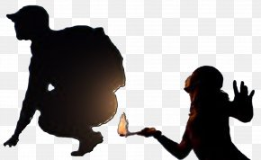 Flame - Fire Breathing Flame Mouth Human Body PNG