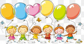61 Children's Day Balloons Children - Children's Day Party Father's Day Mother's Day PNG