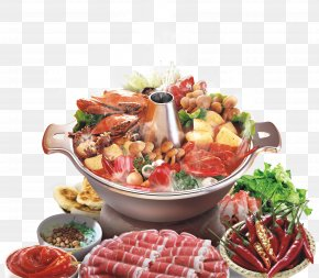 Winter Hot Pot Material - Chongqing Hot Pot Malatang Poster PNG