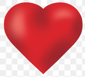 Love Heart - Red Heart Valentines Day PNG