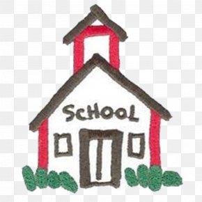 School House - Pinckney School District House Clip Art PNG