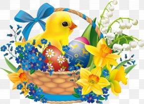 Easter - Easter Bunny Easter Basket Easter Egg PNG