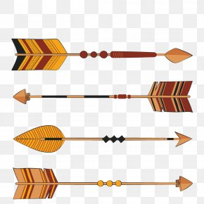 Brown Arrow - Euclidean Vector Arrow Pointer Icon PNG