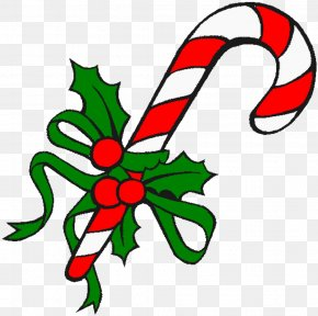 Christmas Candy - Candy Cane Ribbon Candy Stick Candy Christmas Clip Art PNG