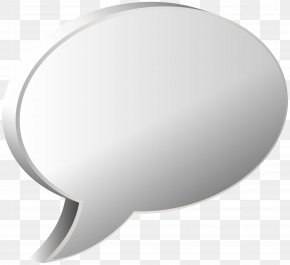 Speech Bubble White Transparent Image - White Circle Angle Product PNG