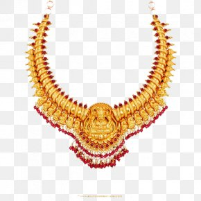 Jewellery Necklace Transparent - Earring Jewellery Necklace Gold Jewelry Design PNG