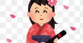 Graduation Ceremony - 卒業式 Hakama Graduation Ceremony Kimono 紋付羽織袴 PNG