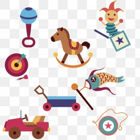 Vector Cartoon Toy Design Icon - Toy Design Clip Art PNG