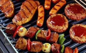 Grill - Barbecue Grill Hamburger Grilling Barbecue-Smoker Charcoal PNG