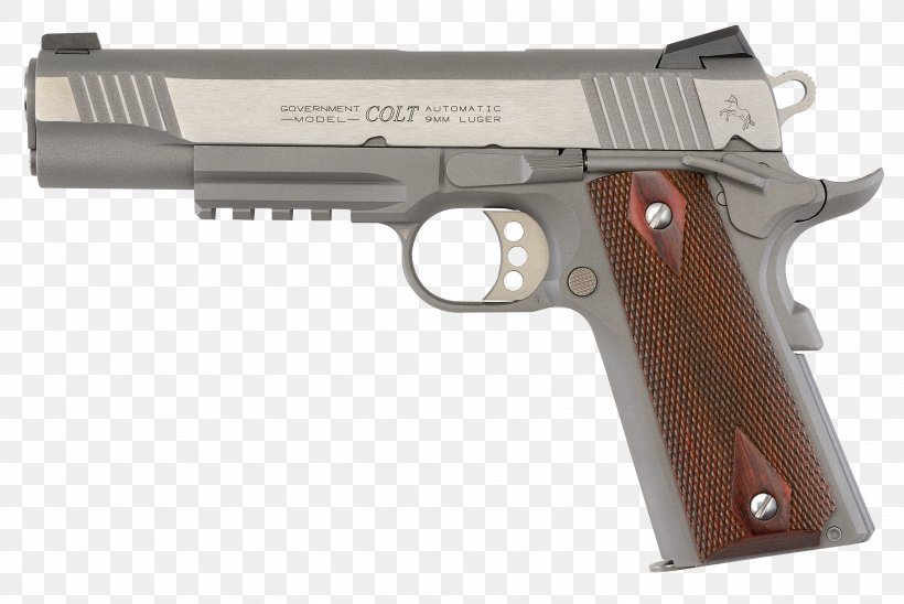 M1911 Pistol Colt's Manufacturing Company .45 ACP Firearm, PNG, 3543x2368px, 10mm Auto, 45 Acp, M1911 Pistol, Air Gun, Airsoft Download Free