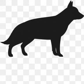 German Shepherd Silhouette - Dog Breed American Pit Bull Terrier German Shepherd Bulldog PNG
