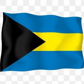 Flag - National Flag Fahne Flag Of The Bahamas Sticker PNG