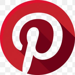Pinterest Social Media Icons - Social Media Social Networking Service Like Button PNG