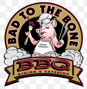 Menu - Barbecue Grill Bad To The Bone BBQ Restaurant Menu Dinner PNG