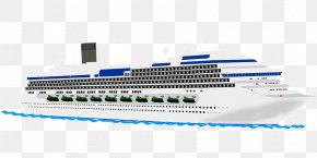 Cruise Ship - Cruise Ship Ocean Liner Boat Clip Art PNG