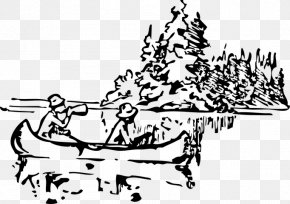 Canoe Clip Art Drawing - Clip Art: Transportation Canoe Vector Graphics Openclipart PNG