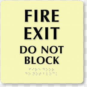 Funny Out To Lunch Signs - Exit Sign Emergency Exit Fire Escape Fire Door PNG