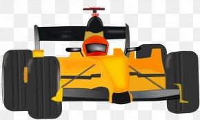 Race Car Clipart - Auto Racing Clip Art PNG