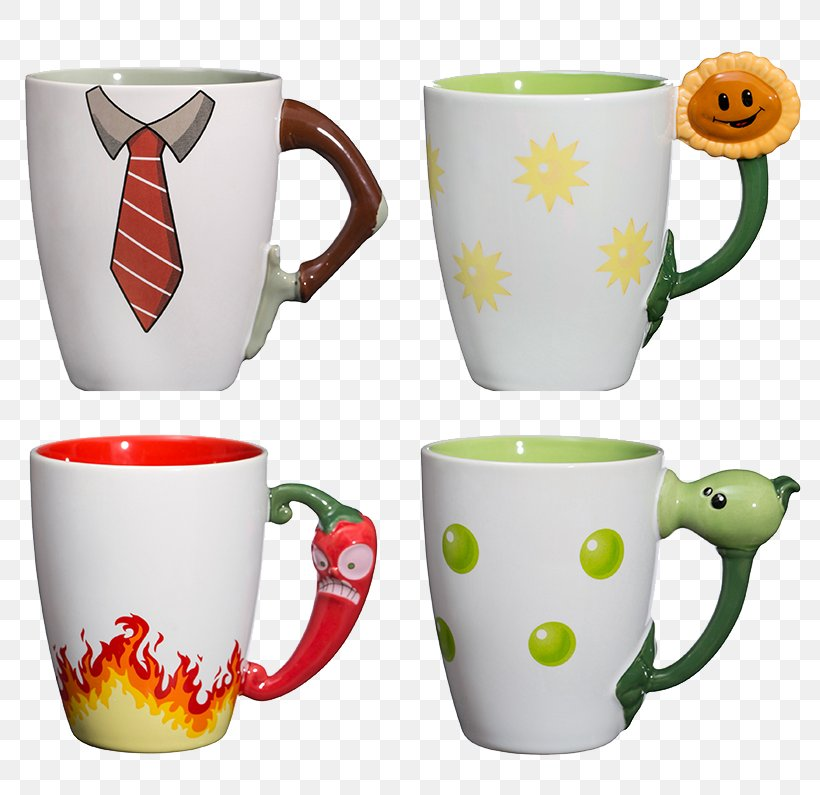 Plants Vs. Zombies 2: Its About Time Minecraft Mug, PNG, 795x795px, Watercolor, Cartoon, Flower, Frame, Heart Download Free