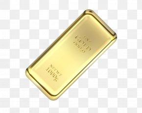 Gold - Gold Bar Bullion PNG