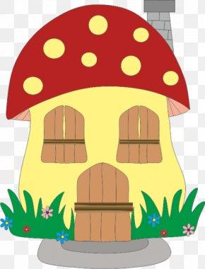 Mushroom - Mushroom House Clip Art PNG