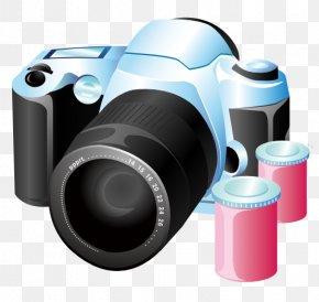 Cameras Cliparts - Photographic Film Video Cameras Movie Camera PNG