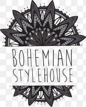 Bohemian - Bohemian Stylehouse Plaza-Midwood Beauty Parlour Logo Font PNG