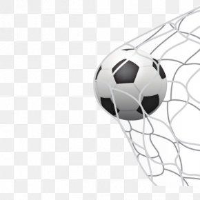 Football Goal Nets Shooting - Football Goal Sport PNG
