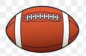 American Sports Cliparts - American Football Kansas Jayhawks Football Clip Art PNG